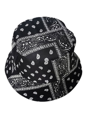 Fashion City Paisley Bucket Hat - Front cropped