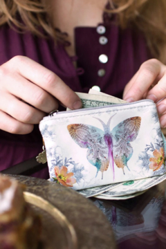 PAPAYA! Paisley Butterfly Coin Purse - Alternate List Image