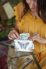 PAPAYA! Paisley-Butterfly Coin Purse - Product Mini Image