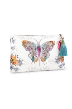 PAPAYA! Paisley Butterfly Large Pouch - Alternate List Image