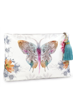 PAPAYA! Paisley Butterfly Large Tassel Pouch - Product List Image
