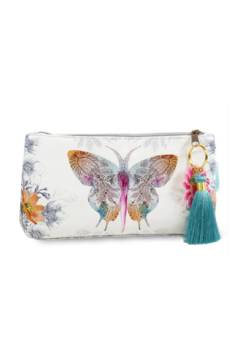 PAPAYA! Paisley Butterfly Small Tassel Pouch - Product List Image