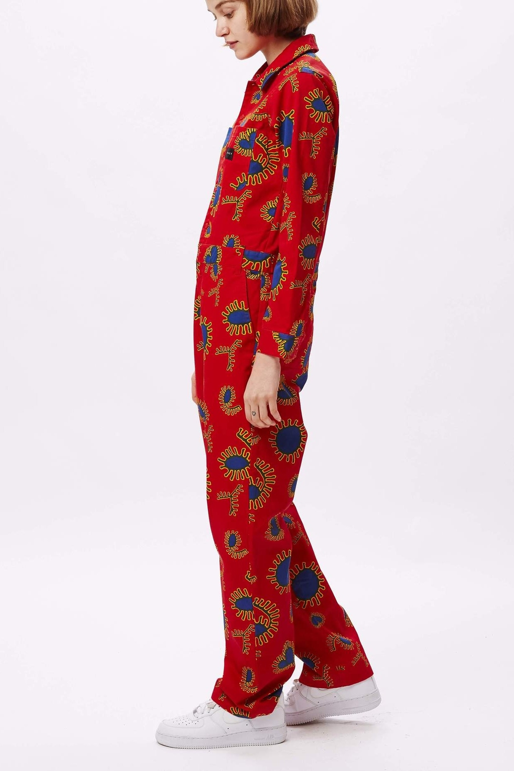 Obey Paisley Coveralls - Side Cropped Image