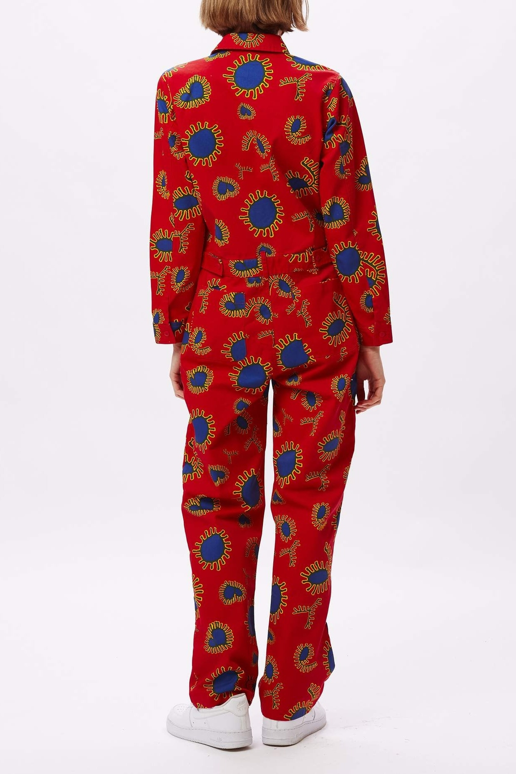 Obey Paisley Coveralls - Front Full Image