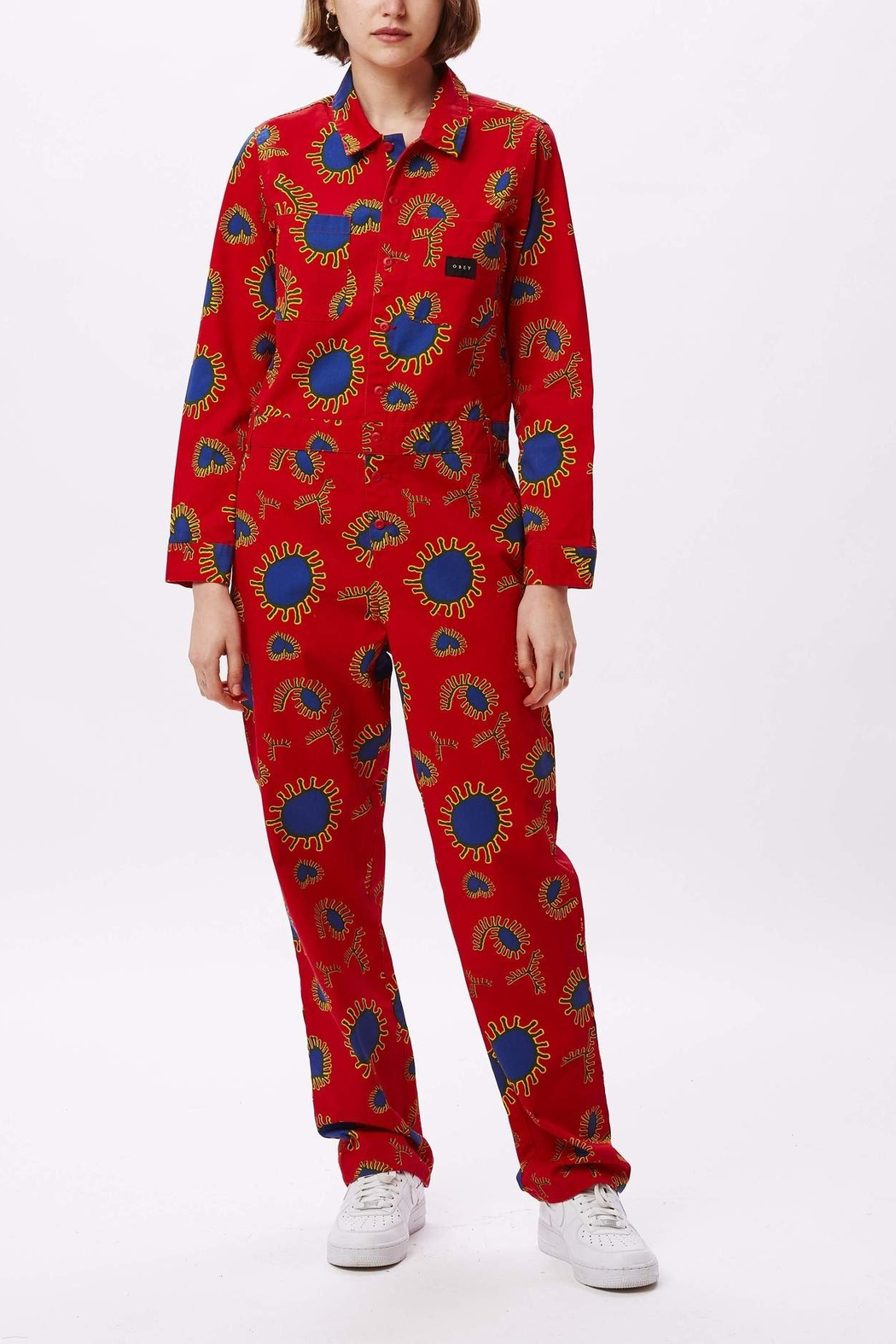 Obey Paisley Coveralls - Main Image