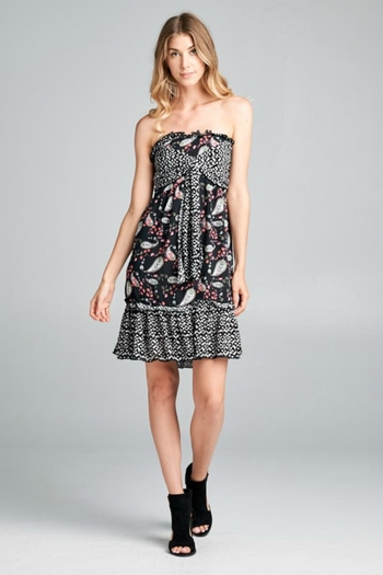 Ellison PAISLEY DRESS from California by Girl's Fashionably Late — Shoptiques