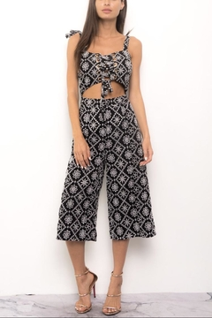 Blithe  Paisley Embroidered Jumpsuit - Product List Image