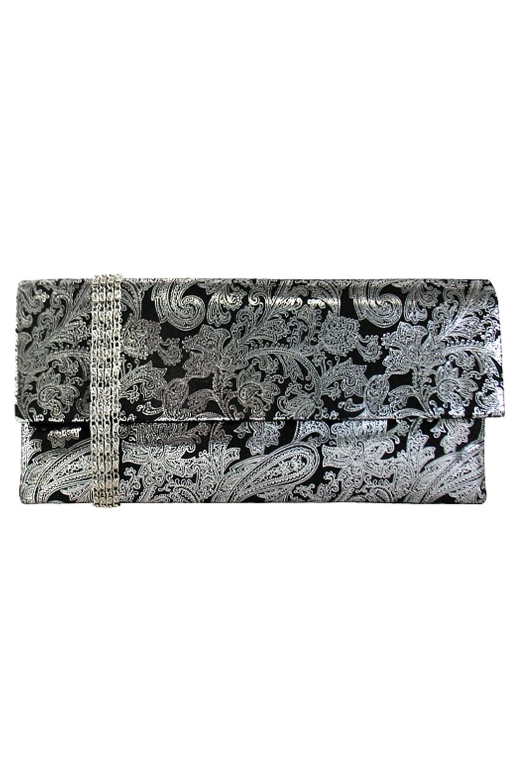Wild Lilies Jewelry  Paisley Envelope Clutch - Main Image