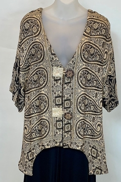 STERLING STYLES INC. PAISLEY JACKET - Product List Image