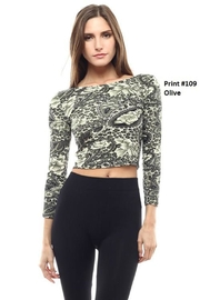 Capella Apparel Paisley Long-Sleeve Top - Product Mini Image