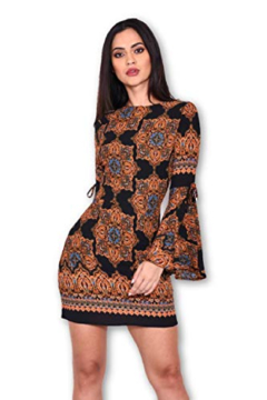 AX Paris Paisley Medallion Dress - Alternate List Image