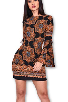 AX Paris Paisley Medallion Dress - Product List Image