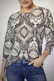 Tribal Jeans Paisley Print Top - Product Mini Image