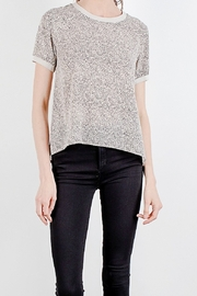 Mod Ref Paisley printed short sleeve top - Front cropped
