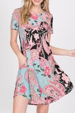 TwentyTen Paisley Shift Dress - Product List Image