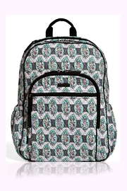 Vera Bradley Paisley Stripes Campus-Tech-Backpack - Product Mini Image