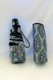 Vera Bradley Paisley Stripes Mini-Umbrella - Front full body