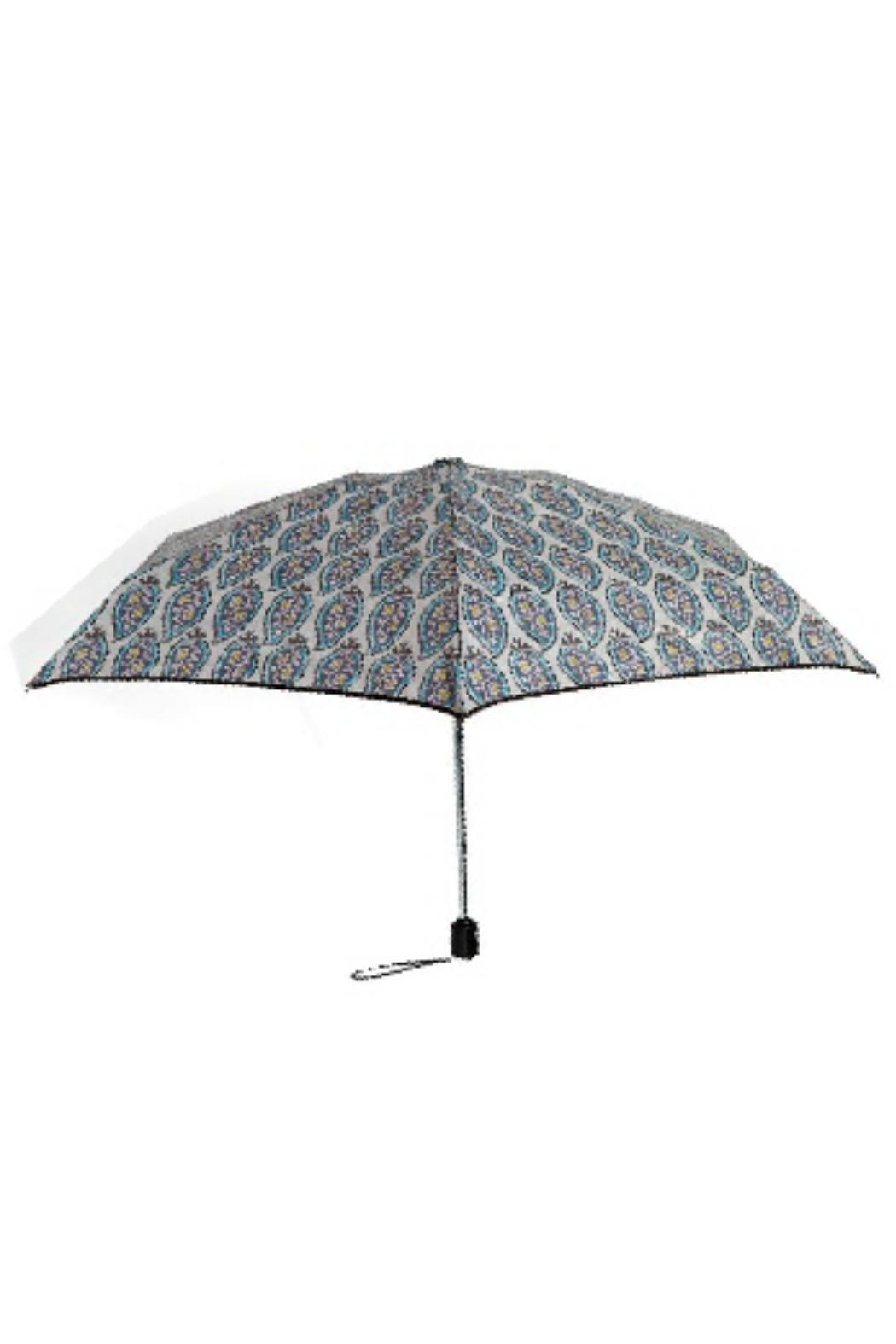 Vera Bradley Paisley Stripes Mini-Umbrella - Main Image