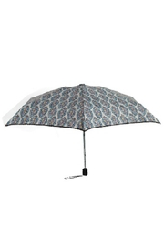 Vera Bradley Paisley Stripes Mini-Umbrella - Front cropped