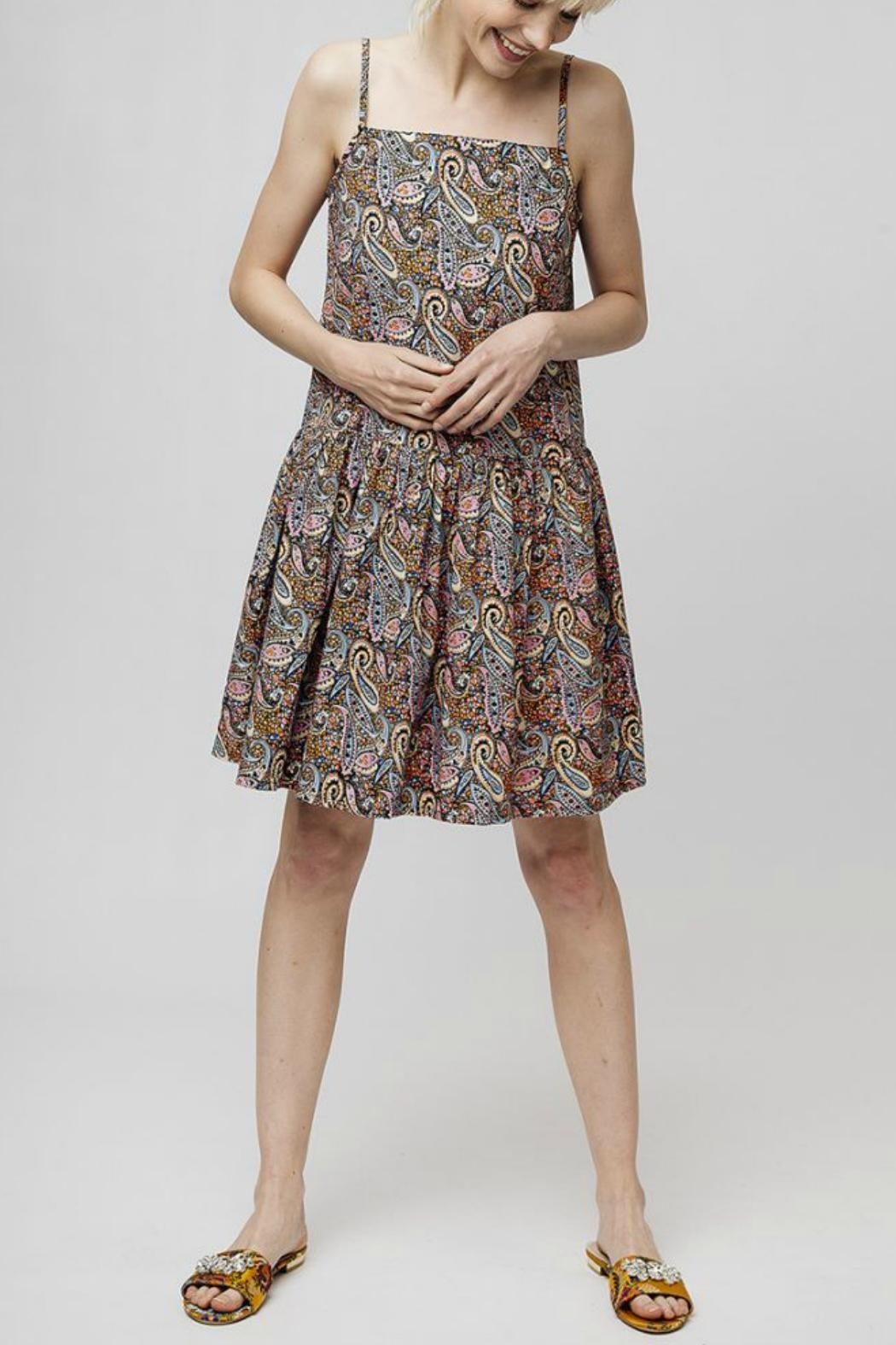 Compania Fantastica Paisley Summer Dress - Side Cropped Image