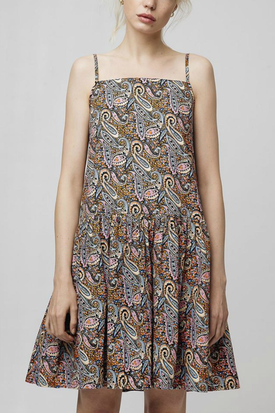 Compania Fantastica Paisley Summer Dress - Front Cropped Image