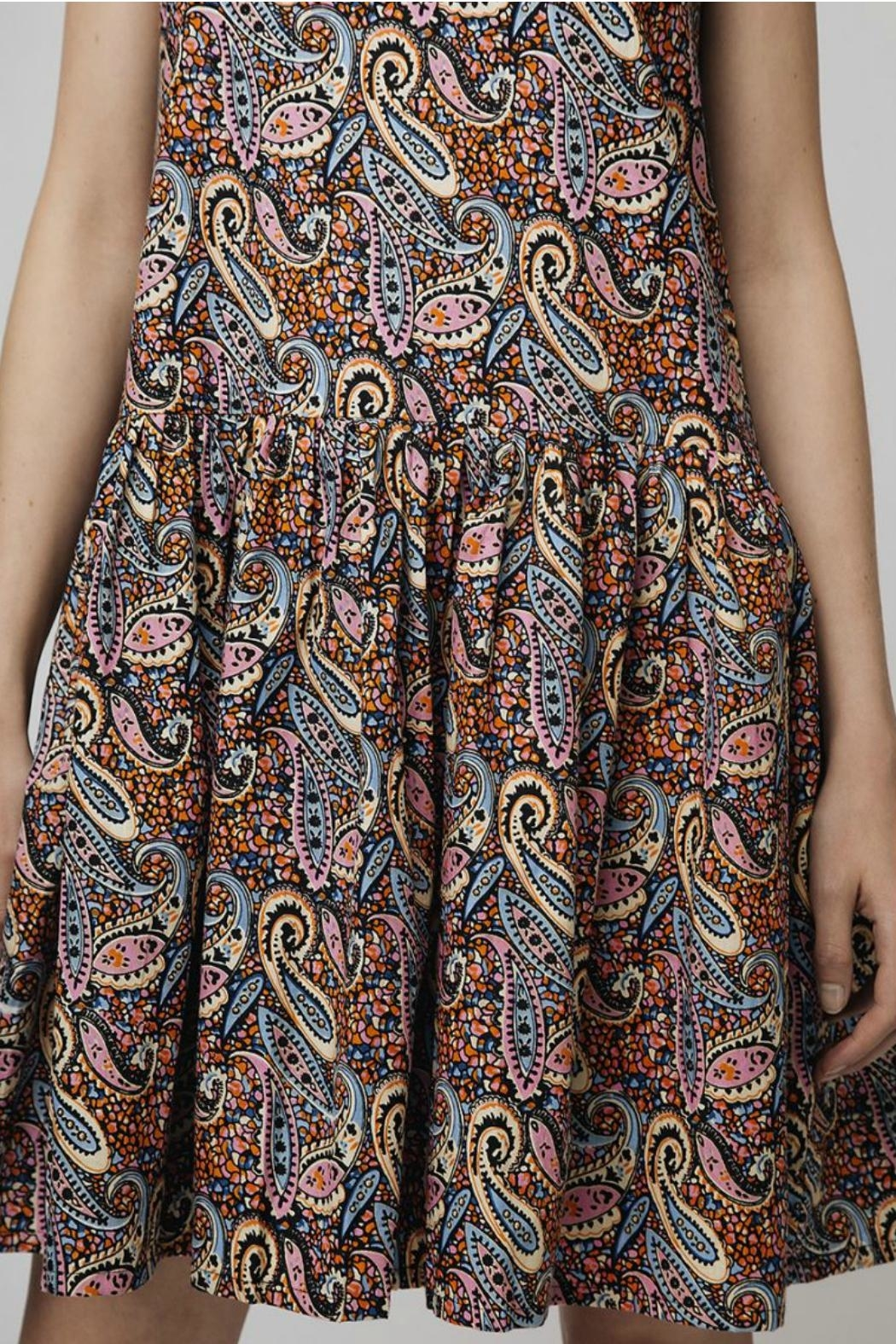Compania Fantastica Paisley Summer Dress - Back Cropped Image