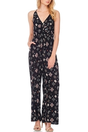 Anama Paisley Surplice Jumpsuit - Product Mini Image