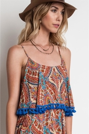 People Outfitter Paisley Tassels Dress - Side cropped