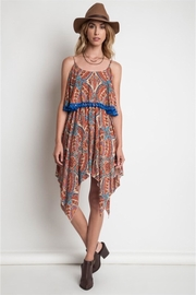People Outfitter Paisley Tassels Dress - Front cropped