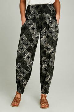 Apricot Paisley Tile 2 Pocket Jogger - Product List Image