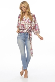 On The Road Paisley Top - Front full body