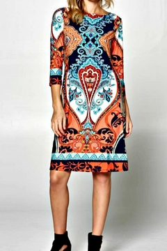 Miss Darlin Paisley Travel Dress - Product List Image