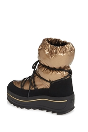 Pajar Taya Crystal Boot In Gold - Front full body