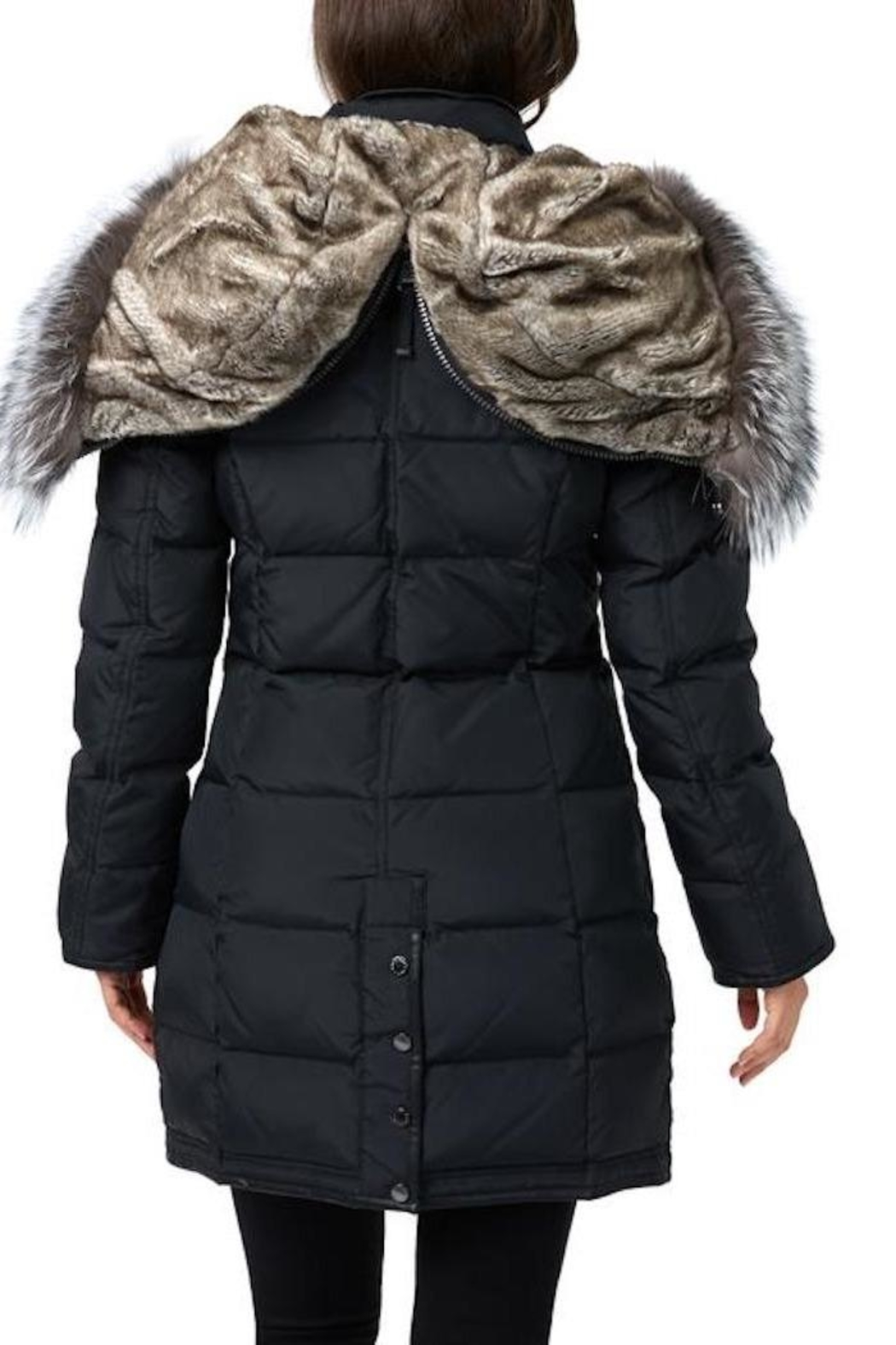 Pajar Panther Down Jacket - Back Cropped Image