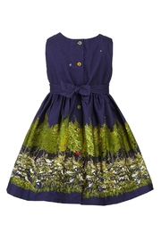 Palava Martha Navy Woodland - Front full body