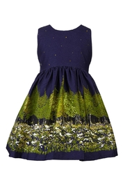 Palava Martha Navy Woodland - Front cropped