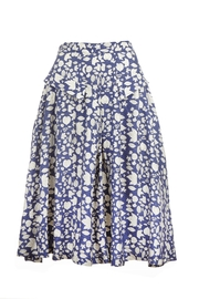 Palava Navy Leaves Skirt - Product Mini Image