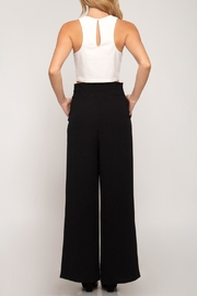 She + Sky Palazzo Paperbag Pants - Side cropped