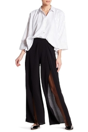 HYFVE Palazzo Side-Slit Pants - Product Mini Image