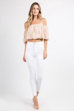 FANCO Pale Pink Crop-Top - Product List Image