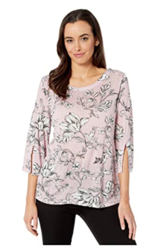 Tribal  Pale pink floral sweater - Product List Image
