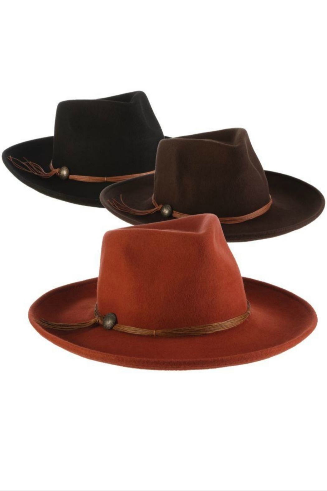 Dorfman Pacific  Palermo Rancher  Hat - Front Cropped Image