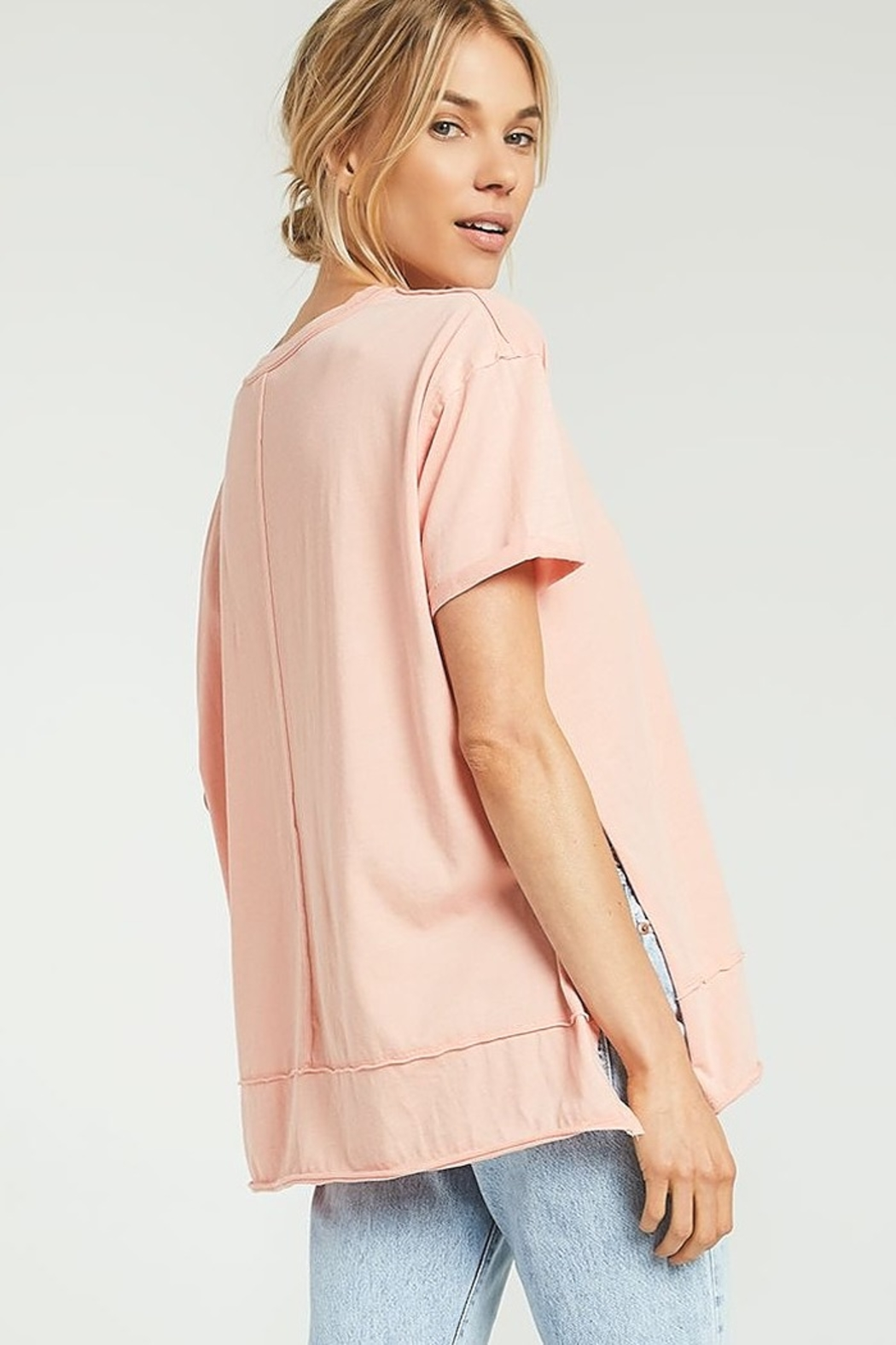z supply Pali Tunic Tee - Front Full Image