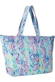 Lilly Pulitzer  Palm Beach Zip-Up Tote - Front full body