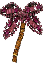 Lisa C. Palm Brooch Pin - Front cropped