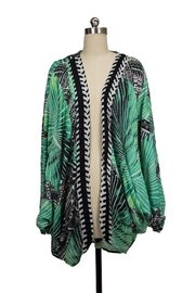 Saachi Palm Court Cocoon - Back cropped