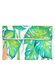 Pura Vida Palm Fold-Over Clutch - Product Mini Image