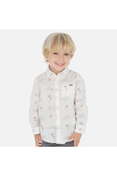 Mayoral Palm Jeep Long Sleeve Shirt - Product List Image