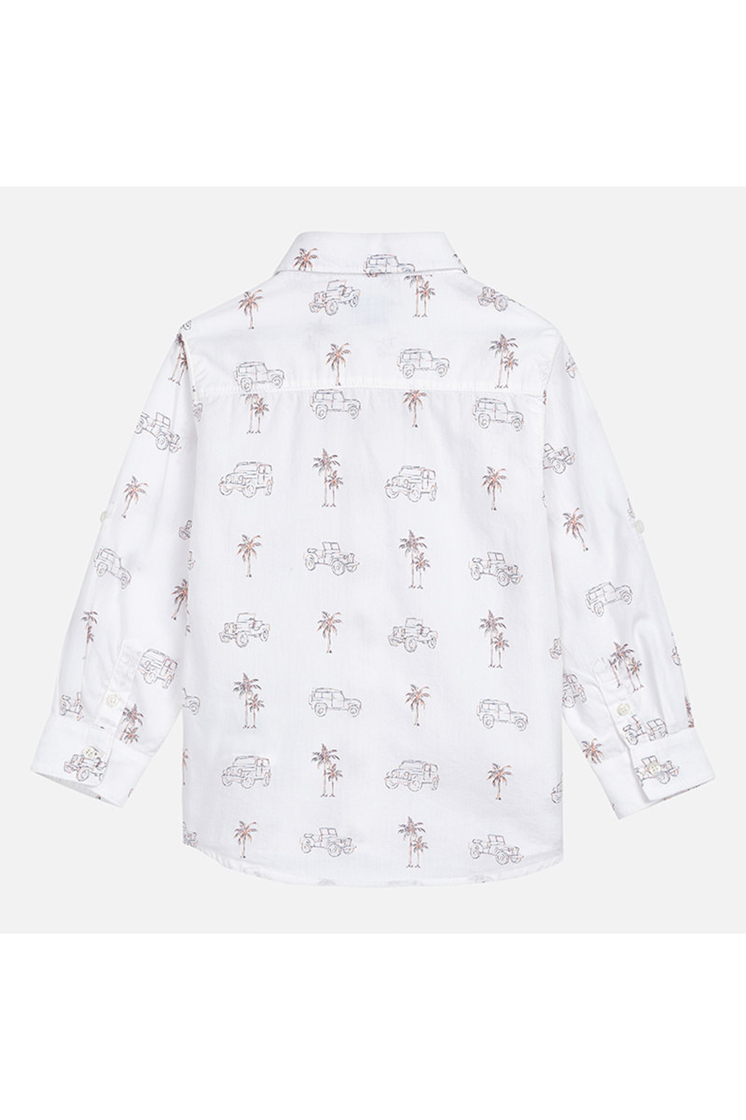 Mayoral Palm Jeep Long Sleeve Shirt - Side Cropped Image