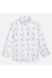 Mayoral Palm Jeep Long Sleeve Shirt - Front full body
